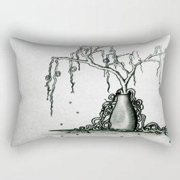 Wilted Plant Rectangular Pillow