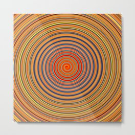 Hard Candy Swirl Metal Print