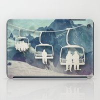 snowboarding iPad Cases featuring Lift Me Up by Amanda Royale