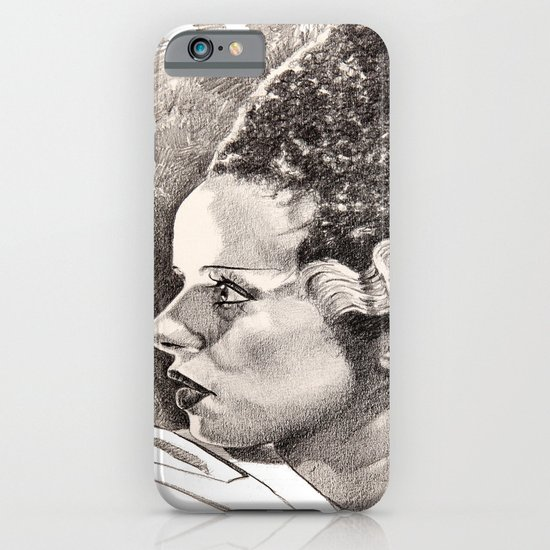 The bride of frankenstein elsa lancaster iPhone & iPod Case