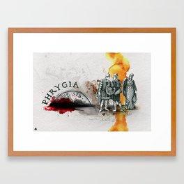 Phrygia Framed Art Print