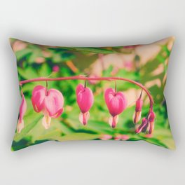 flaming heart Rectangular Pillow