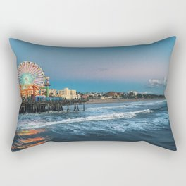 Wheel of Fortune - Santa Monica, California Rectangular Pillow