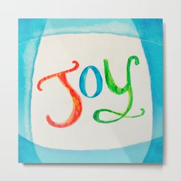 Joy and Color Metal Print