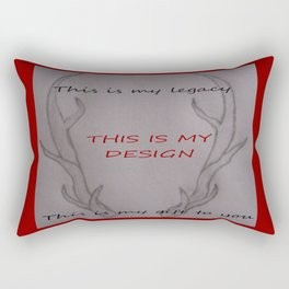 Legacy, Gift, Design Rectangular Pillow