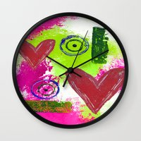 Delicate Balance Wall Clock