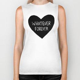 Whatever Forever Biker Tank