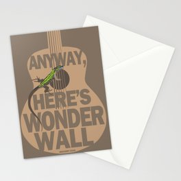 Wonder Wall Lizard Stationery Cards