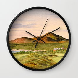 Royal County Down Golf Course Wall Clock