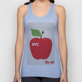 NYC Airliner poster Unisex Tank Top