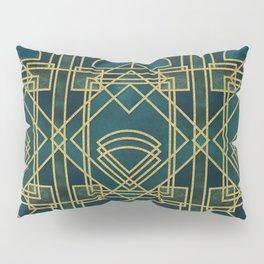 Art Deco Elegant Gatsby Style Pillow Sham