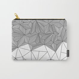 Digital Zentangle Incomplet Light Carry-All Pouch