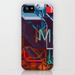 M! iPhone Case