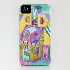Yellow House iPhone (4, 4s) Slim Case