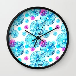 English Daisies 2 Wall Clock