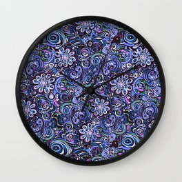 Lilith and Lavender Wall Clock