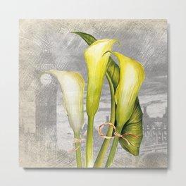 Macro Flower #8 Metal Print
