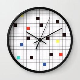 Crossword Puzzle #GraphicDesign #Minimalism Wall Clock