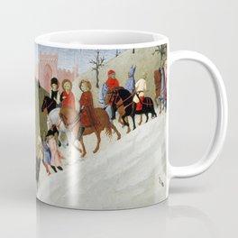 The Journey of the Magi (ca 1433-35) by Stefano di Giovanni Coffee Mug