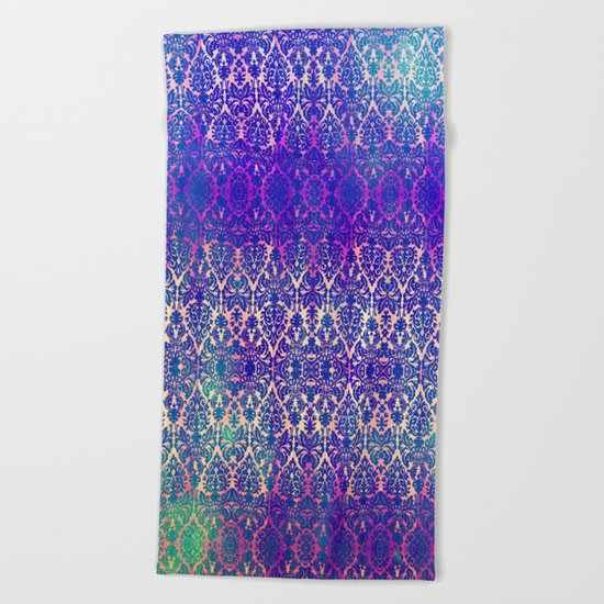 BABEELON BLUE Beach Towel