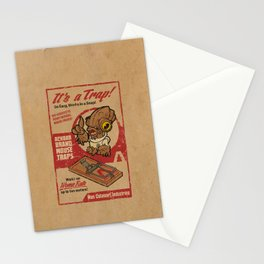 It's a Trap! Stationery Cards