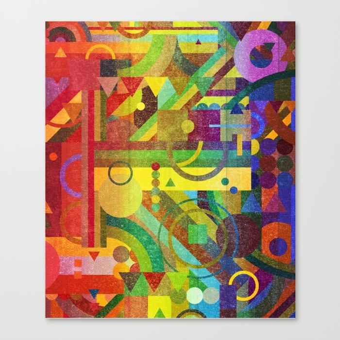 Future Patterns. Canvas Print