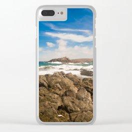 Liquid Planet North Coast Clear iPhone Case