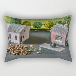 The Little Millers Coffee Corporation Rectangular Pillow
