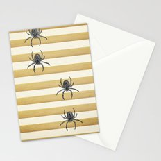 Descending Spiders Stationery Cards