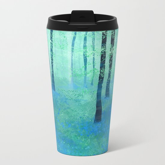 Bluebells, Challock Metal Travel Mug