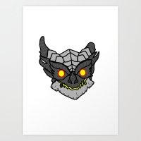 Cute Deathwing Art Print