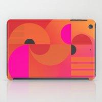 kandinsky iPad Cases featuring abstract construction 02 by Ioana Luscov
