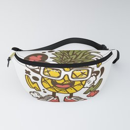Pinneapple for animated characters comics and pop culture lovers Fanny Pack