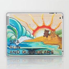 Sea, Sun and Gummibears Laptop & iPad Skin