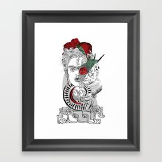 mother frida Framed Art Print