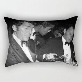 Frank Sinatra Drank American Whiskey His Way Rectangular Pillow