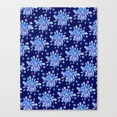 Zero Gravity Crystals Canvas Print