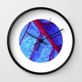 bloodstream abstract II Wall Clock