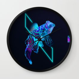 Beauty in the Abyss Wall Clock