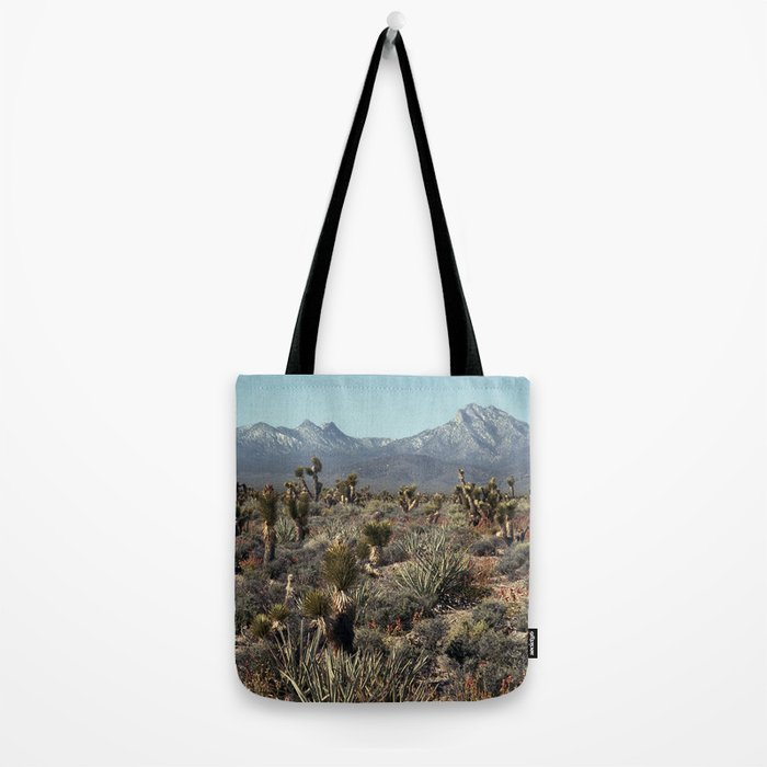 Cold Creek, Nevada Tote Bag