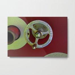 Pressure Capacity Metal Print