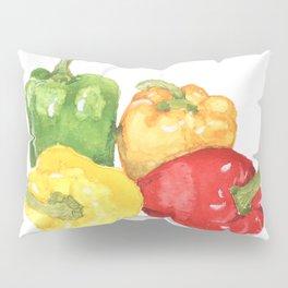 Bell Peppers Pillow Sham