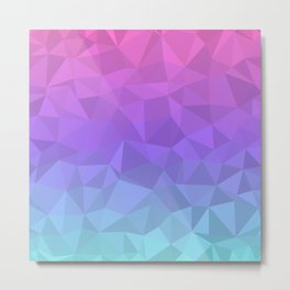 Jewel Tones Metal Print