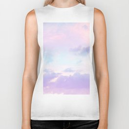 Unicorn Pastel Clouds #1 #decor #art #society6 Biker Tank