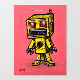 Baby Roboto Canvas Print