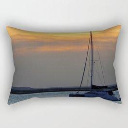 Amelia River Sunset Rectangular Pillow