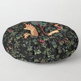 Unicorn Garden Floor Pillow