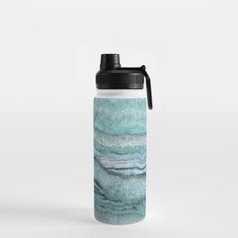 Mystic Stone Aqua Teal Water Bottle