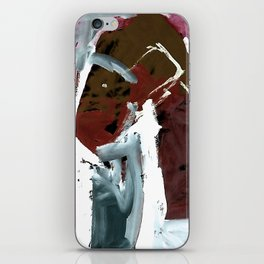 Those who dance with the sled dogs iPhone Skin