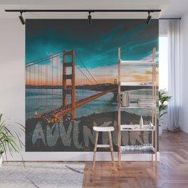 ADVENTURE San Francisco Wall Mural